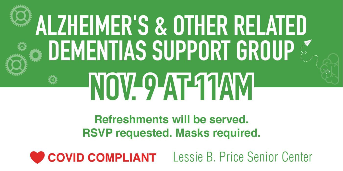 daybreak aiken november dementia support group